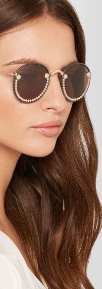 Fred Banana Embellished Glasses