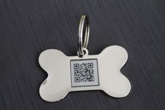 Super cool technology for your pet. Your lost furry friends can be just a scan away from home!