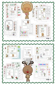 10 Christmas Math Work Stations.  Ready to use - gotta see it to believe it!