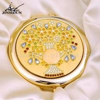 High quality copper make up mirror, free shipping!