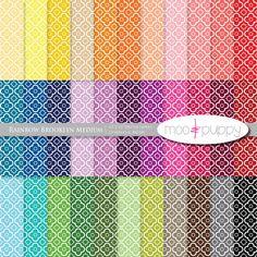 Mega SALE   Digital Scrapbook Paper Pack    Rainbow by mooandpuppy  https://www.etsy.com/listing/109479099/mega-sale-digital-scrapbook-paper-pack?ref=shop_home_active_2