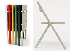 Piana Folding Chair. Available at Design Within Reach