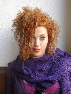 curly haircut and color  by wip-hairport, via Flickr