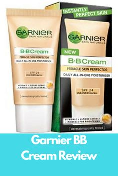 Garnier BB Cream Review Garnier BB Cream, product review | How to use it | Pros and cons | User reviews | Pros and cons | Ingredients used...