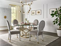 Love. Joy. Bliss.-Miranda Kerr Home Love Joy Bliss Round Dining Table | Universal Furniture