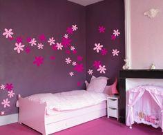 (002n) Nálepka na stenu - Kvetinky | ARTSABLONY.SK