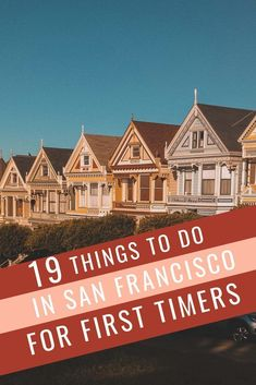 california travel Here are 19 suggestions for exploring the best things to do for your first time in San Francisco. Tons of sightseeing tips to eat, drink and see the city for a first timer. Tourist Places, Places To Travel, Travel Destinations, Usa Travel Guide, Travel Usa, Travel Tips, Travel Guides, Travel Checklist, Bali Travel