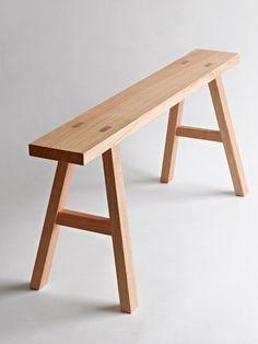 muji oak bench - Google Search More