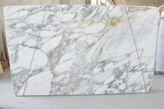 Marble Slabs – Calacatta Vagli 6-16 Marble Slabs, Marble Countertops, Calacatta, Floors, Tiles, Kitchens, House Design, Home Tiles, Room Tiles