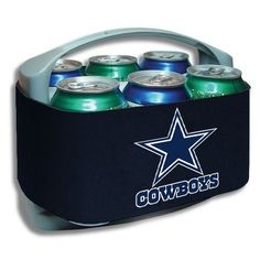 Dallas Cowboys Navy Blue Cool Six Cooler