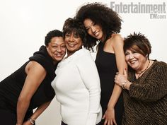 "Lisa Fischer, Merry Clayton, Judith Hill, and Táta Vega from Sundance film, ""Twenty Feet From Stardom."""