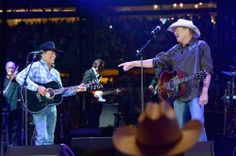 With King George; Arlington 2014. The Cowboy Rides Away