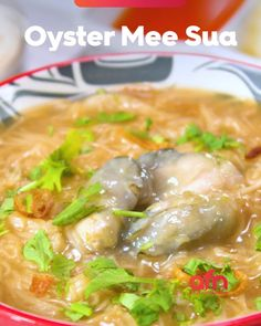 This popular street food in Taiwan consist of a bowl of wheat vermicelli cooked rich bonito-flavored thickened soup. Top with juicy, plump oysters and a variety of toppings. Oyster Recipes, Asian Recipes, New Recipes, Taiwan Street Food, Sweet Potato Flour, Armenian Recipes, Singapore Food, Indian Street Food, Just Cooking