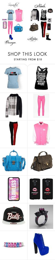 """Sisters fanfiction. 5SOS and 1D. Vampires and Werewolves."" by emo-vampire-nicole ❤ liked on Polyvore featuring Var/City, French Connection, 3.1 Phillip Lim, Proenza Schouler, LG, Gemvara, UGG Australia, women's clothing, women's fashion and women"