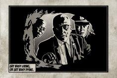 Shawshank Redemption by - Artist John Michael Le 1990s Films, The Shawshank Redemption, Top Film, Rita Hayworth, Friends Tv, Good Movies, The Book, Cinema, Darth Vader