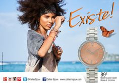CALLAS pour dames, CALLAS sport pour hommes, Lou&Leo pour les enfants. Des montres et bijoux design et tendance, à petit prix ! De quoi faire des folies !