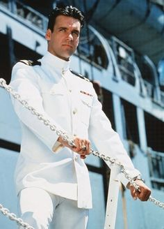 David James Elliott.....played the character Lt. Commander Harmon Rabb, Jr. on the series JAG...Judge Advocate General.