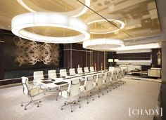 Intercontinental Dhaka, Bangladesh. Boardroom Interior Design by Chada. @chada.interiorarchitecture Retail Space, Cool Countries, Hotels And Resorts, Ceiling Lights, Luxury, Hospitality, Interiors, Design, Home Decor