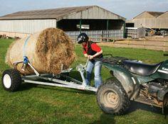 .. Garden Tractor Attachments, Atv Attachments, Quad Trailer, Small Garden Tractor, John Boats, Atv Trailers, The Barnyard, Atv Accessories, Farm Tools