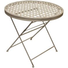 Small Metal Folding Outdoor Table