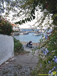 Autumn in Spetses, and there's no better time to go for a walk to the Old Harbor