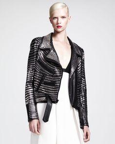 Blake Studded Leather Jacket