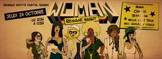 woman reggae night