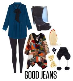 """""""Good jeans - September 2015"""" by perpetto ❤ liked on Polyvore featuring 7 For All Mankind, Melissa McCarthy Seven7, Chloé, Charlotte Olympia, Kate Spade, Paul Smith, Urban Decay and plus size clothing"""