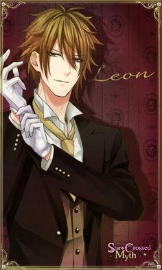 Leon + Star Crossed Myth + Voltage inc. Hot Anime Guys, Anime Love, Male Harem, Star Crossed Myth, Voltage Games, Leo Star, Voltage Inc, Leo Constellation, Shall We Date