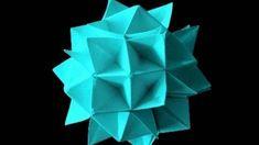 Japon kağıt katlama sanatı (Origami) - teknikleri, örnekleri ve ipuçlarını videolu anlatımı. Kağıttan renkli top yapımı