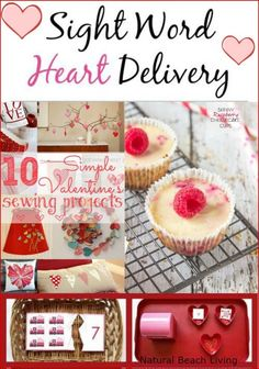 Valentine's Day activities, treats, hands on learning, homeschooling, holiday treat healthy cupcake, DIY Valentine's Day www.naturalbeachliving.com