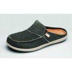 5087d4f7e8 Spenco Siesta Slide Shoes in Charcoal Grey for comfort and foot pain relief  with an orthotic arch support