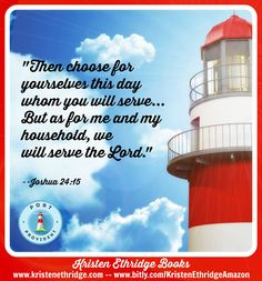 """Verse of the day:   """"As for me and my house, we will serve the Lord..."""" -Joshua 24:15  I love the whole verse in context--we aren't bound by our heritage, our history, our past, or the decisions of others. We can CHOOSE to follow the Lord. We are free to make our own choices--just because something has always been done one way doesn't mean we always have to do it the same way.  What choices are you making today to make the best decisions for yourself instead of following the crowd?"""