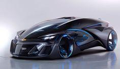 Chevrolet FNR シボレー、SF感あふれるコンセプトEV「FNR」発表。半透明カプセルボディ、自動運転で対面座席化 - Engadget Japanese