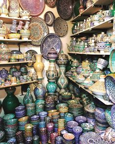 Just a few weeks ago I traveled to Morocco for the second time,rediscovering this warm-hearted country all over again. Here's a list of five Moroccan crafts to fall in love with. Below: a souk at the Marrakesh Medina with hand-painted ceramics TO DIE FOR! 1. Hand-Painted Ceramics. 2. Moroccan Mosaic. You can find theseworks of …