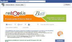 Ristoranti 2.0, con restOpolis fidelizzi il tuo pubblico su Facebook