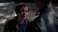 "Picture with Edward Furlong (John Connor)Arnold Schwarzenegger (The Terminator) from ""Terminator 2: Judgment Day"" ( 1920 x 1080 )"