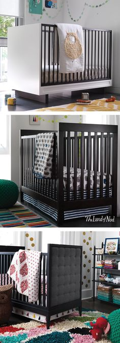 Our exclusive cribs feel at home in any nursery, and they feature exceed many safety standards, so you can rest easy while your little one sleeps soundly.