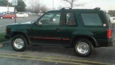 1993 Ford Explorer Sport V6 manual trans (My favorite vehicle. Sporty, SUV, practical. VDR)