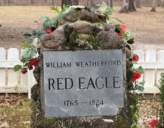 Creek Indian History Alabama | ... mine. He was a half-blood Creek indian chief. Buried near Atmore, AL