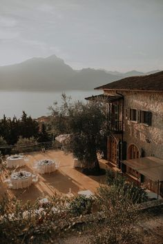 This destination wedding at Paolo Bonomelli Boutique Olive Farm features a cliffside ceremony, al fresco villa reception, and stunning views of Lake Garda. Tuscan Wedding, Elegant Wedding, Perfect Wedding, Dream Wedding, European Wedding, Trendy Wedding, Wedding Destination, Italy Wedding, Weddings In Italy