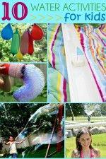 10 Water Activities for Kids