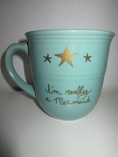 I'm really a mermaid  coffee mug 16.5 oz. by RazzleDaniDazzle, $15.00