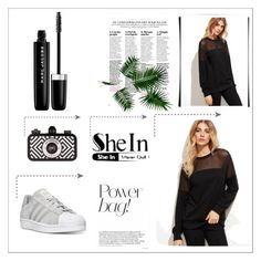 """""""Sheln"""" by amina-33 ❤ liked on Polyvore featuring Marc Jacobs and adidas"""