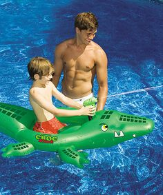 Take a look at this Croc Attack Float by Swimline on #zulily today!