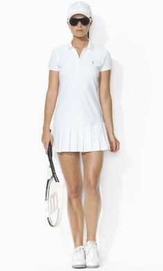 Knit Tennis Dress - Ralph Lauren Tennis Sale - RalphLauren.com