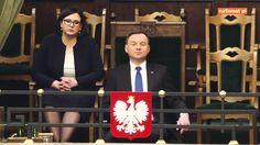 Andrzej Duda walczy... ze snem