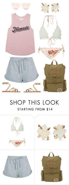 """Untitled #1144"" by clothes-wise ❤ liked on Polyvore featuring Zimmermann, Melissa Joy Manning, Boohoo, Billabong and Quay"