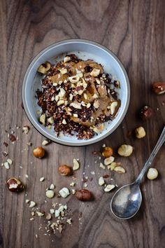 chocolate hazelnut overnight oats