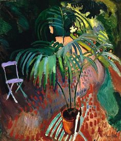 Raoul Dufy The Little Palm Tree 1905